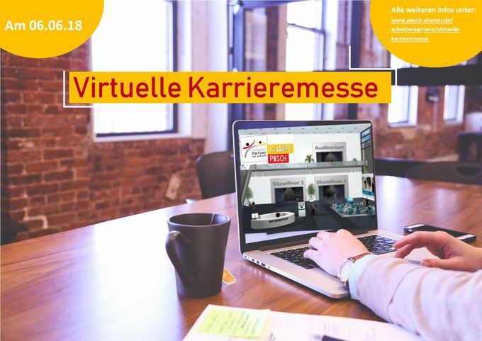 Virtuelle Karrieremesse
