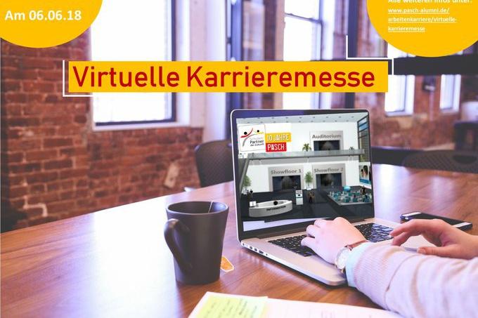 Virtuelle Karrieremesse