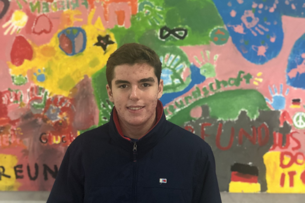 JAIME GARCÍA CID BESONDERER PREIS IN DER ESO