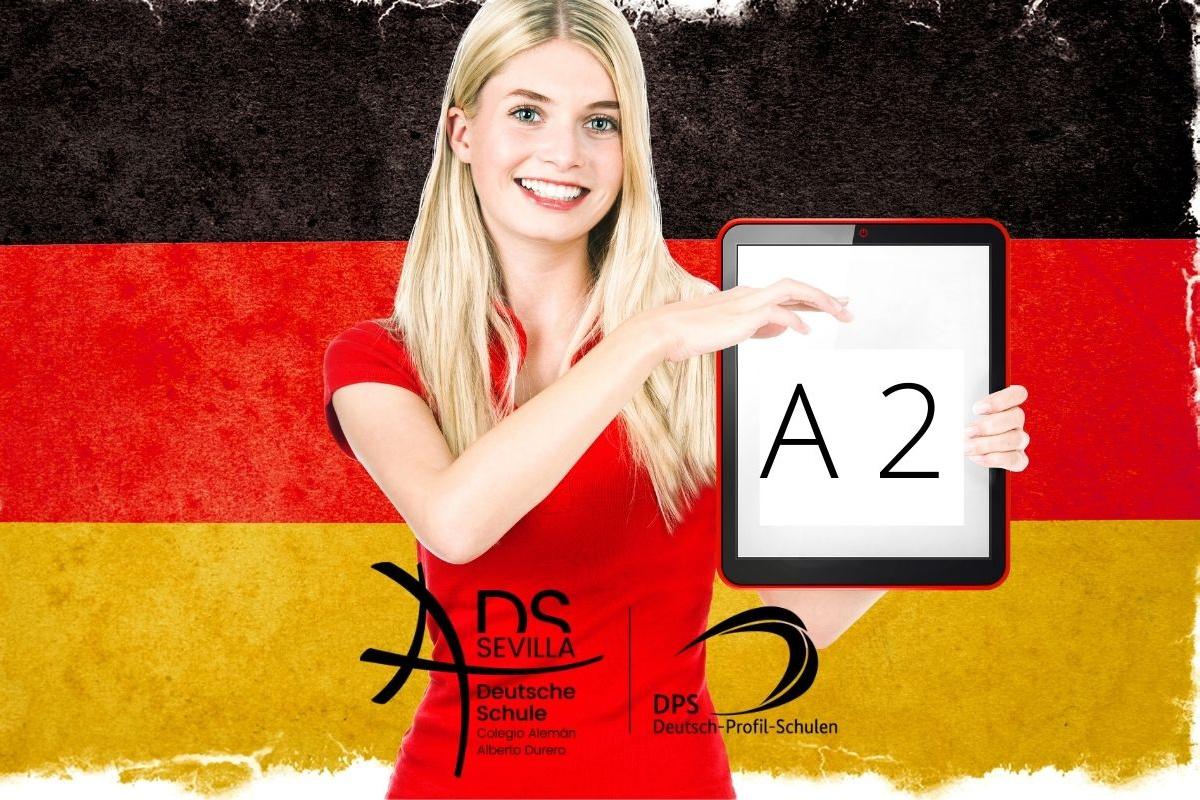 Unsere schulinterne Deutschprüfung A2