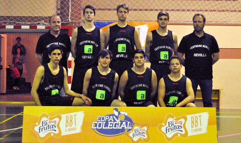 Bicampeones Copa Colegial baloncesto masculino 2016/2017