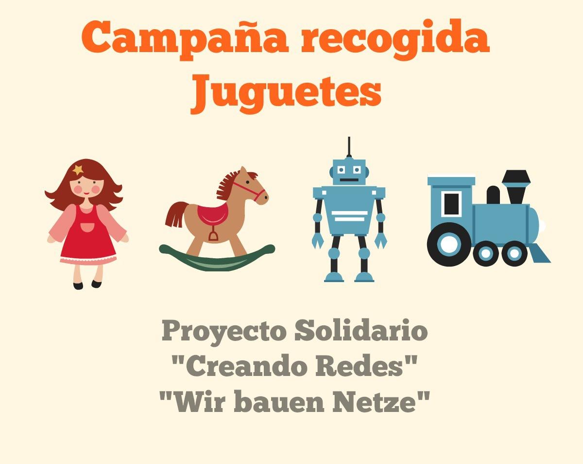 Campaña Recogida de Juguetes Deutsche Schule Colegio Alemán Sevilla