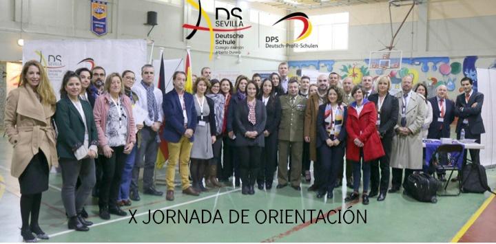X JORNADA DE ORIENTACIÓN DEUTSCHE SCHULE COLEGIO ALEMÁN SEVILLA