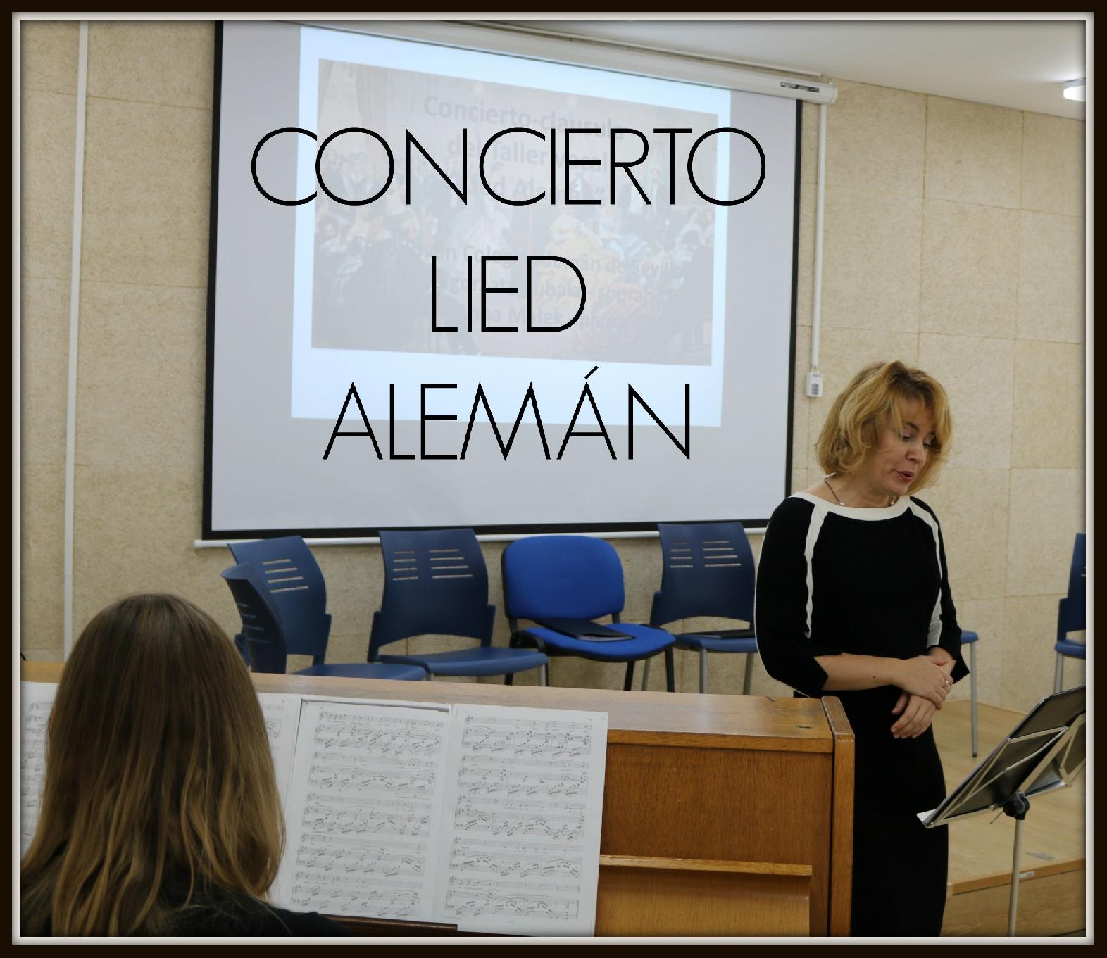 concierto didáctico Lied Alemán