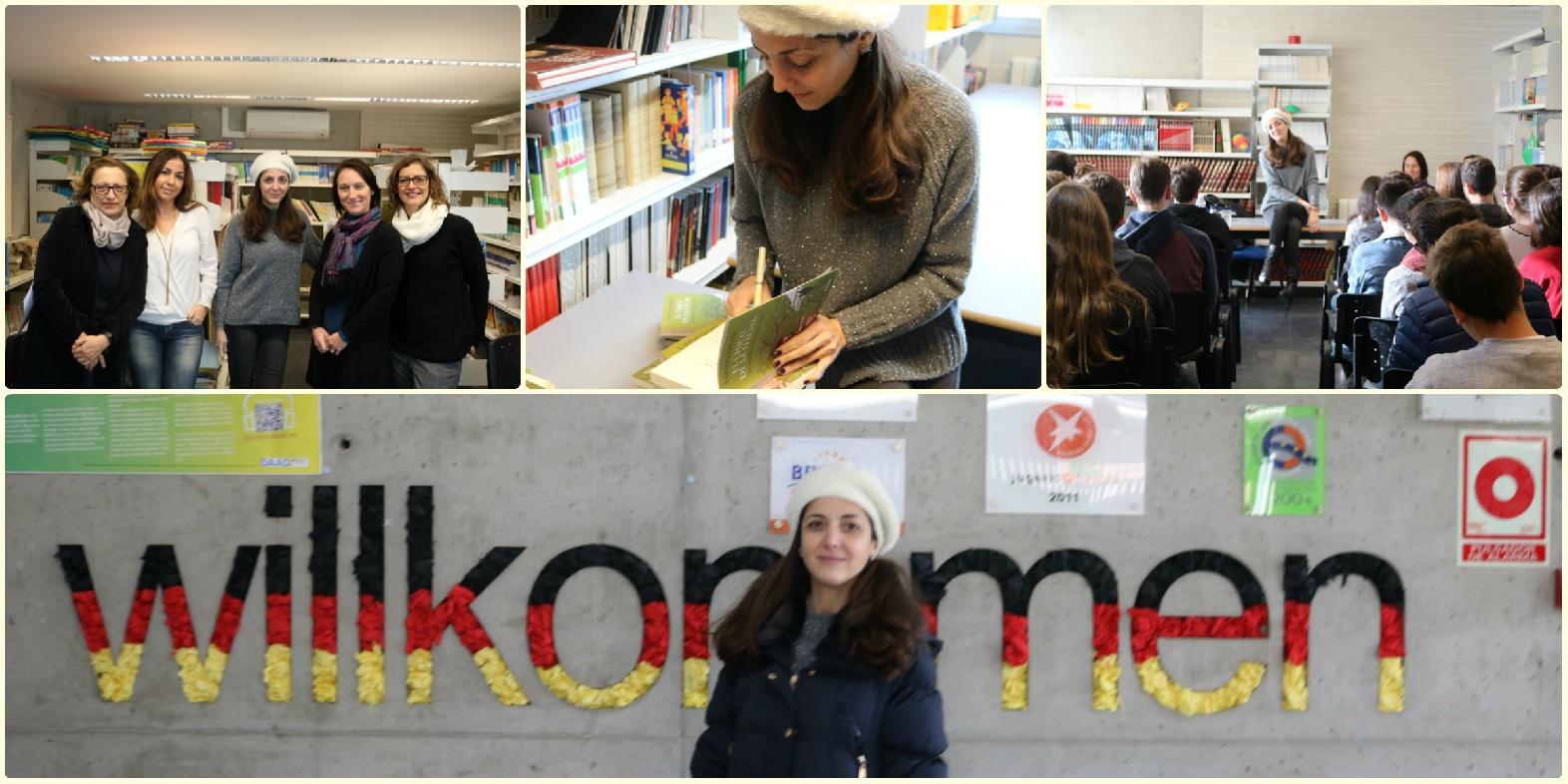 espido freire en el deutsche schule colegio alemán sevilla