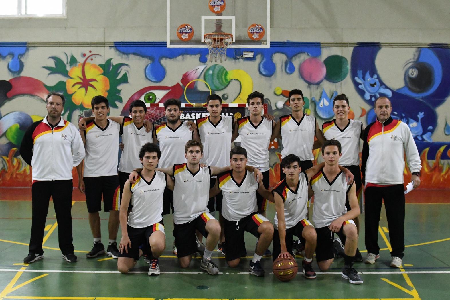 El deutsche schule colegio alemán sevilla debuta en la copa colegial de baloncesto 2018