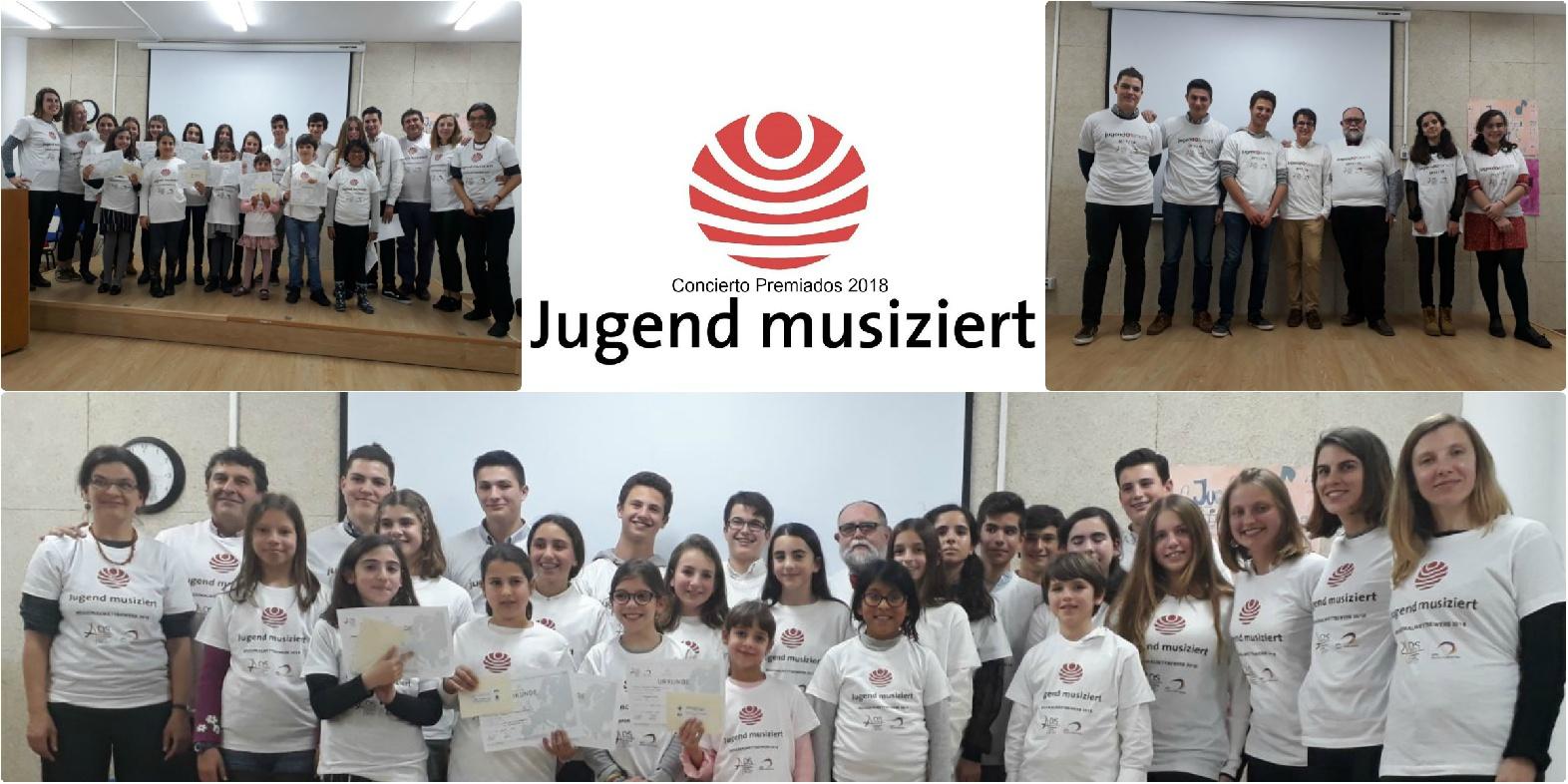 concierto y reconocimientos a  Jugend musiziert y jugend forscht