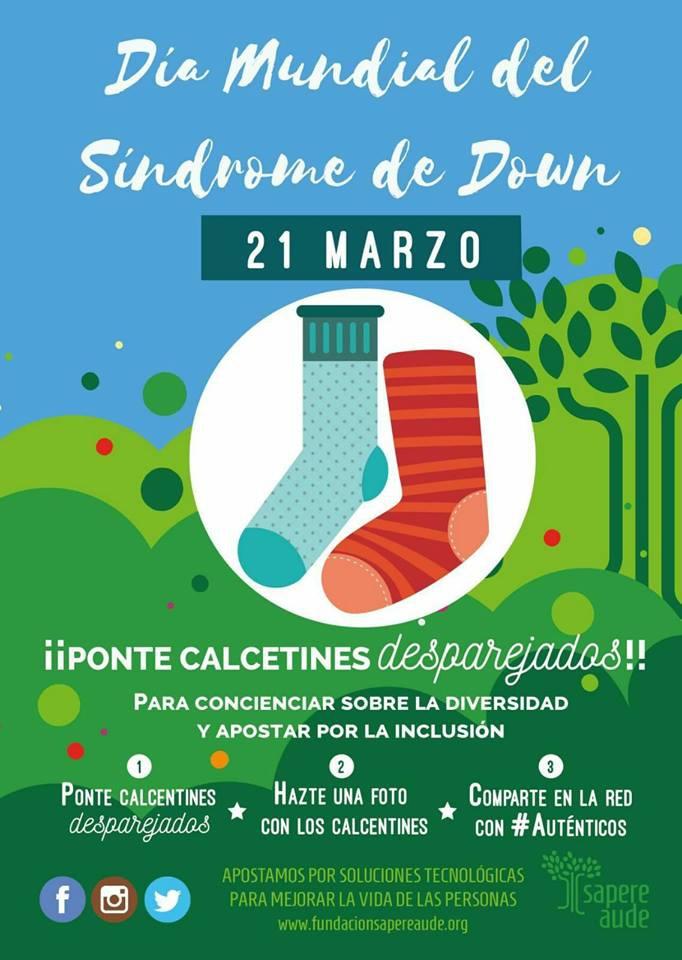 El Colegio Alemán apoyando  la Operación Calcetines Desparejados por el Día Mundial del Síndrome de Down