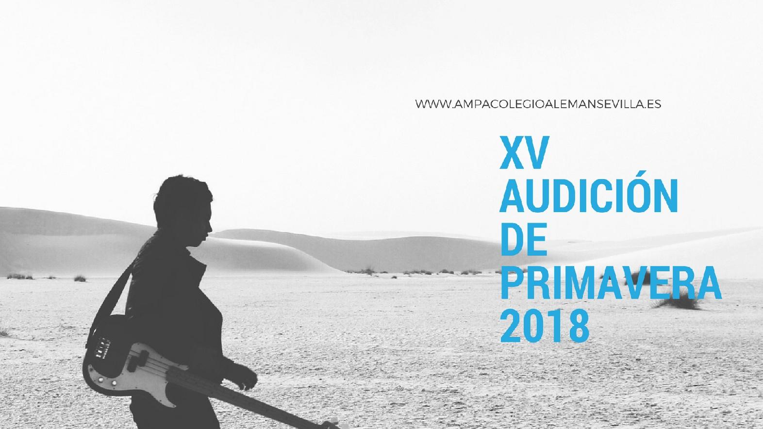 AUDICIÓN DE PRIMAVERA 2018