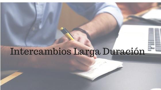 INTERCAMBIO LARGA DURACIÓN