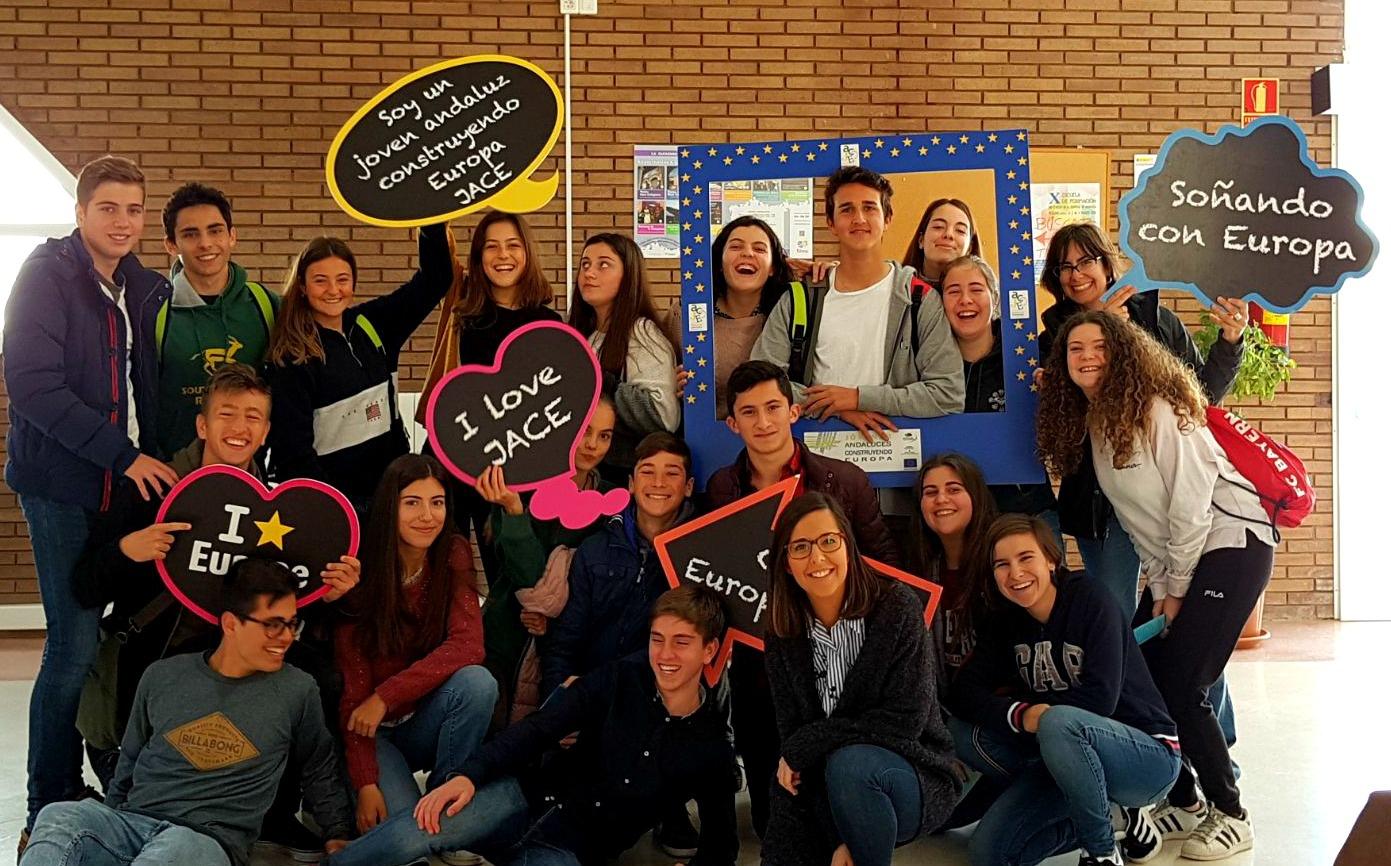 """Deutsche Schule Sevilla en la final de  """"Jóvenes Andaluces Construyendo Europa - JACE"""""""