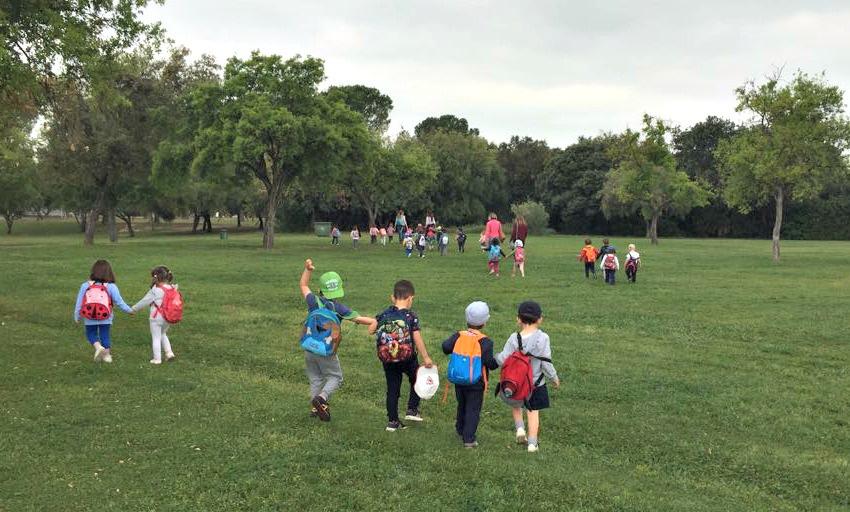 ¡Al fin nos vamos al parque del Alamillo!