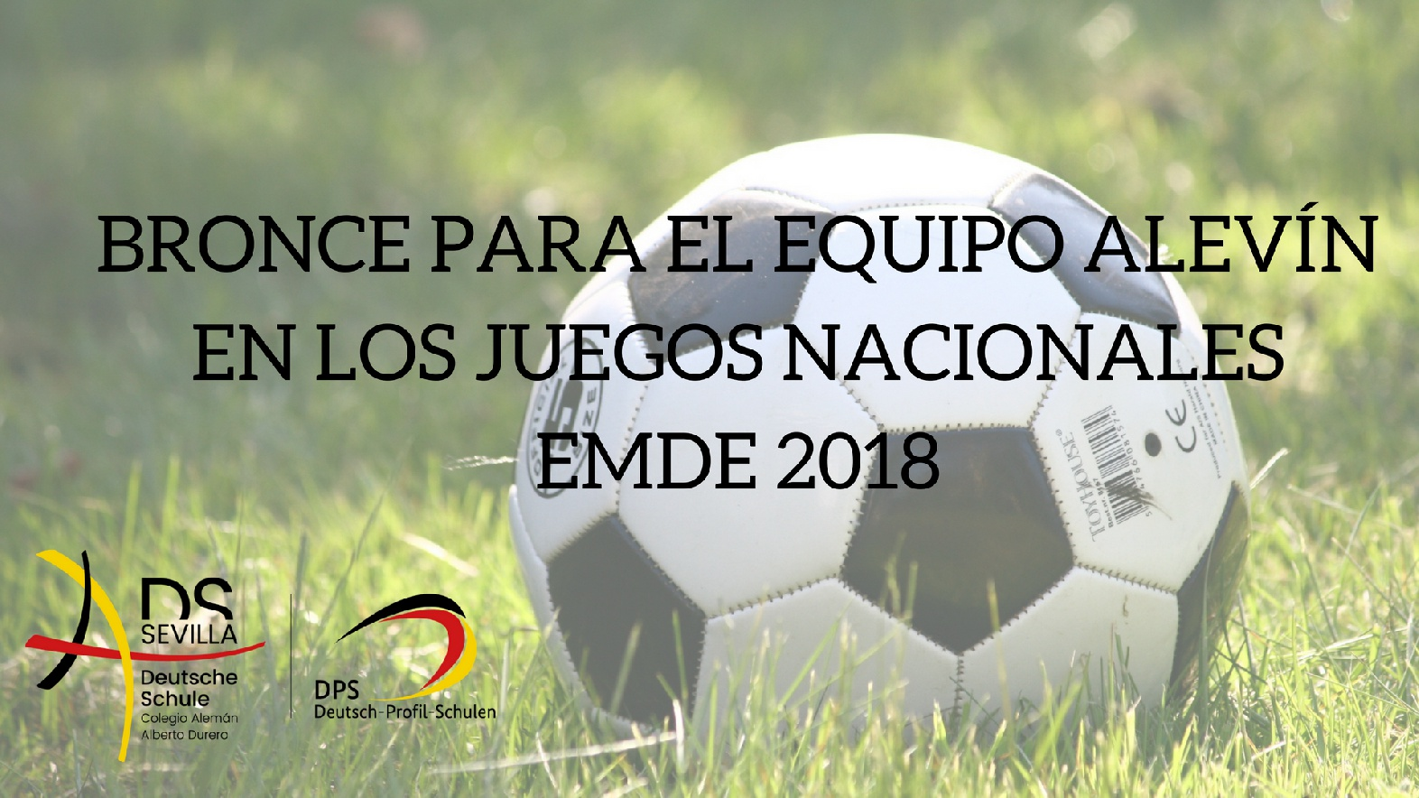EQUIPO ALEVÍN DE FUTSAL BRONCE EN LOS JUEGOS NACIONALES EMDE 2018