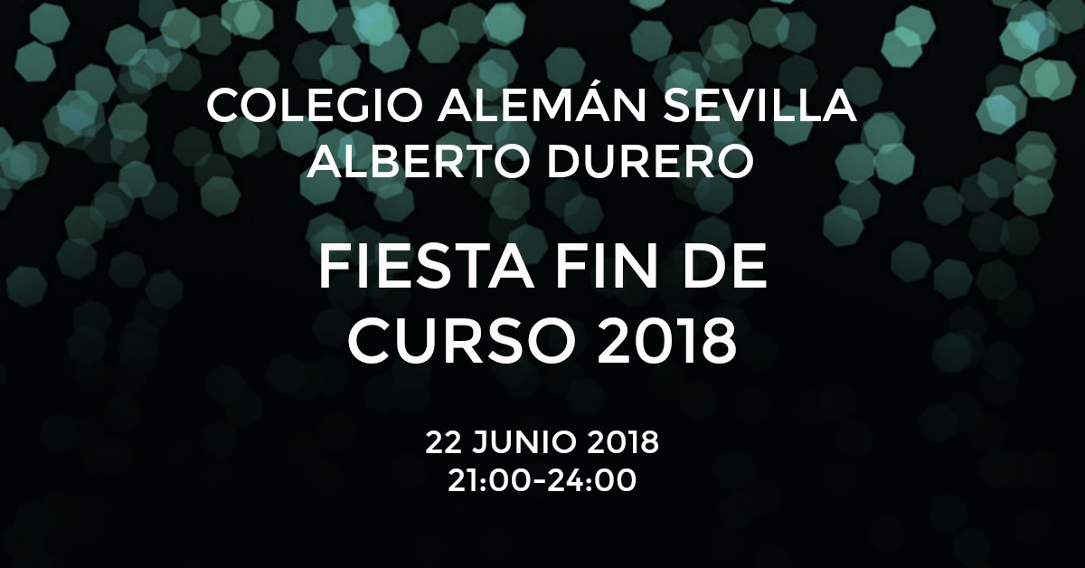 FIESTA FIN DE CURSO 2018