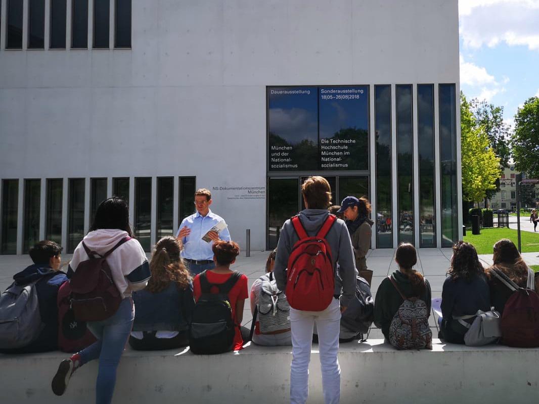 LOS ALUMNOS DE 3º ESO EN SU INTERCAMBIO MÚNICH-GRÖBENZELL