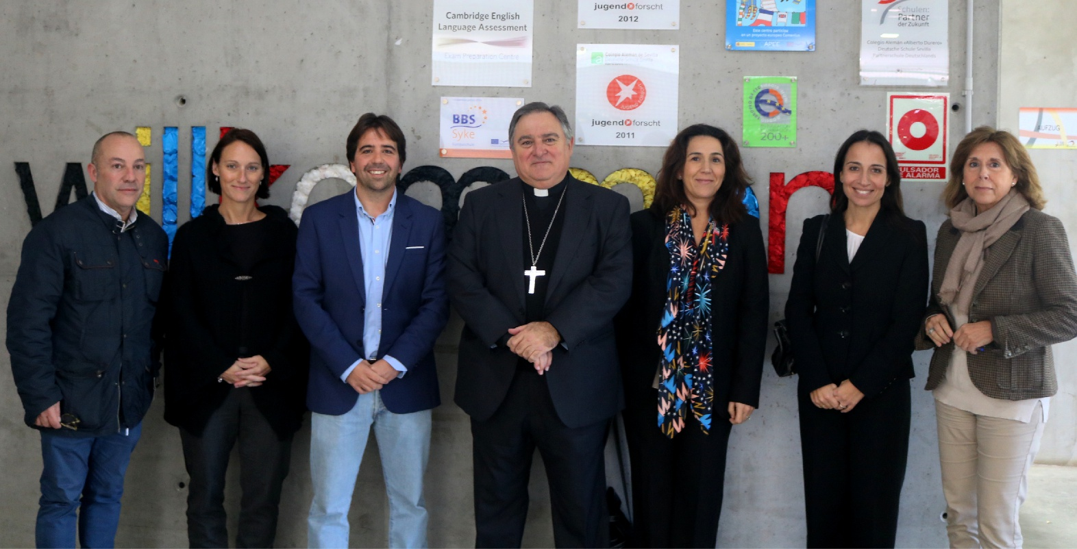 Conferencia del Excelentísimo y Reverendísimo Sr. Don José Mazuelos Pérez, Obispo de la  Diócesis Asidonia-Jerez, en el Colegio Alemán Sevilla