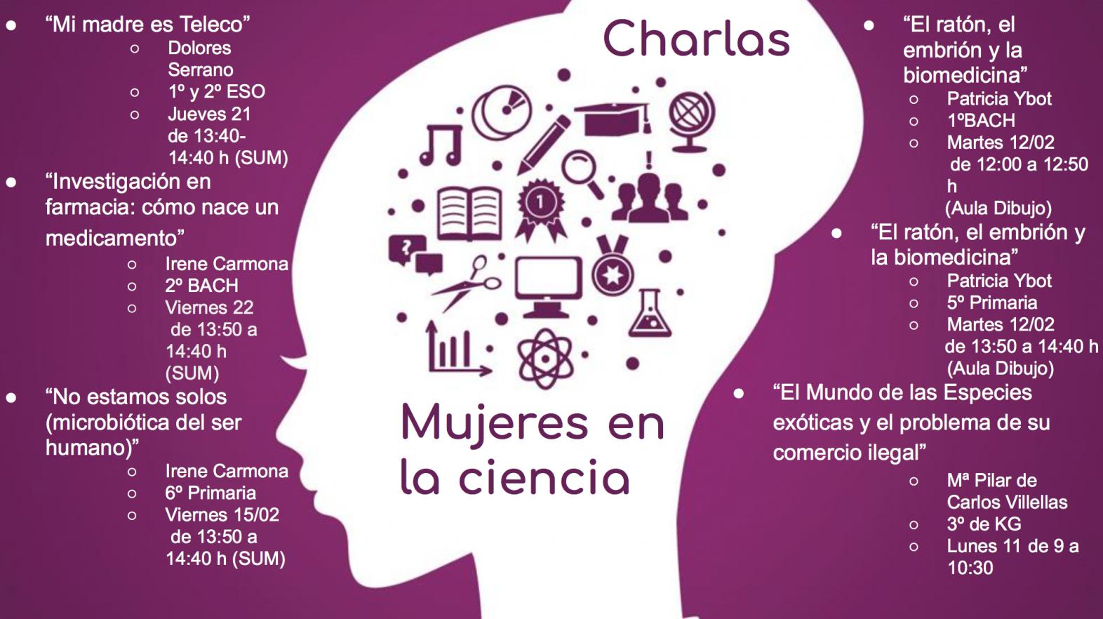 Semana de la Mujer y la Niña en la Ciencia