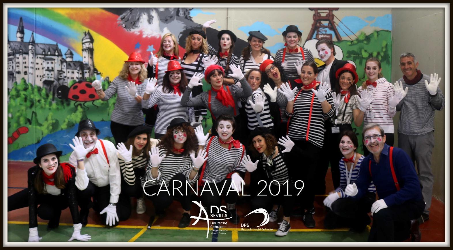 CARNAVAL 2019 EN EL COLEGIO ALEMÁN SEVILLA