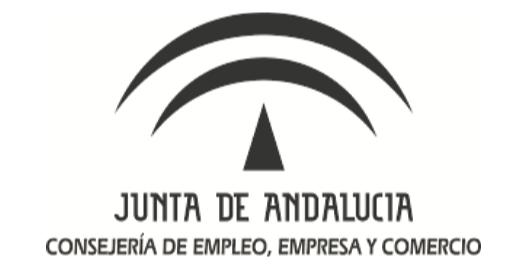 JUNTA DE ANDALUCÍA CONSERJERÍA DE EMPLEO, EMPRESA Y COMERCIO