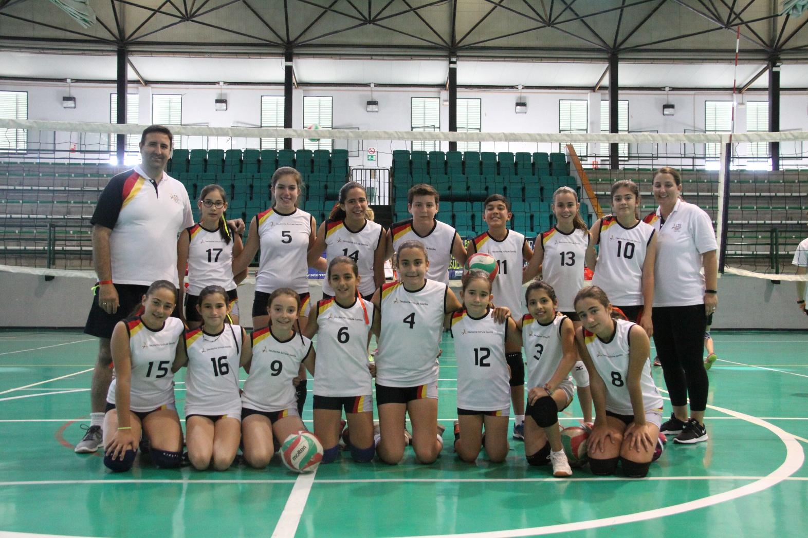 4º Puesto para el equipo Alevín Mixto de Voleibol en los XXV Juegos Escolares Nacionales