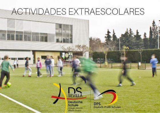 PROGRAMA ACTIVIDADES EXTRAESCOLARES CURSO 2020-21