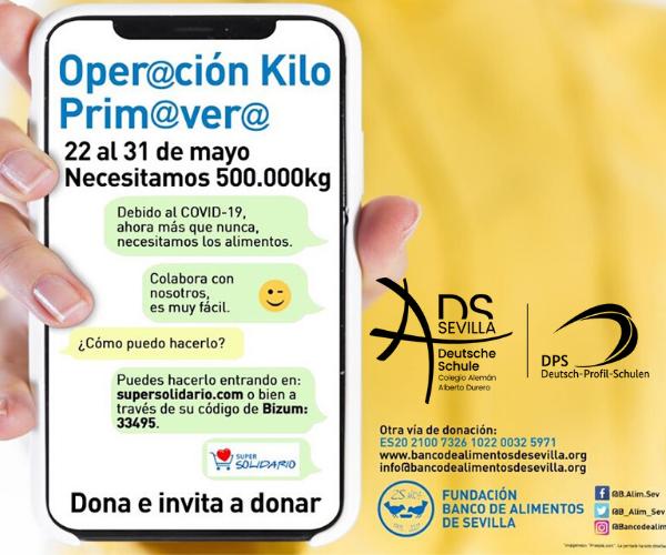 OPERACIÓN KILO PRIMAVERA 2020 ON-LINE
