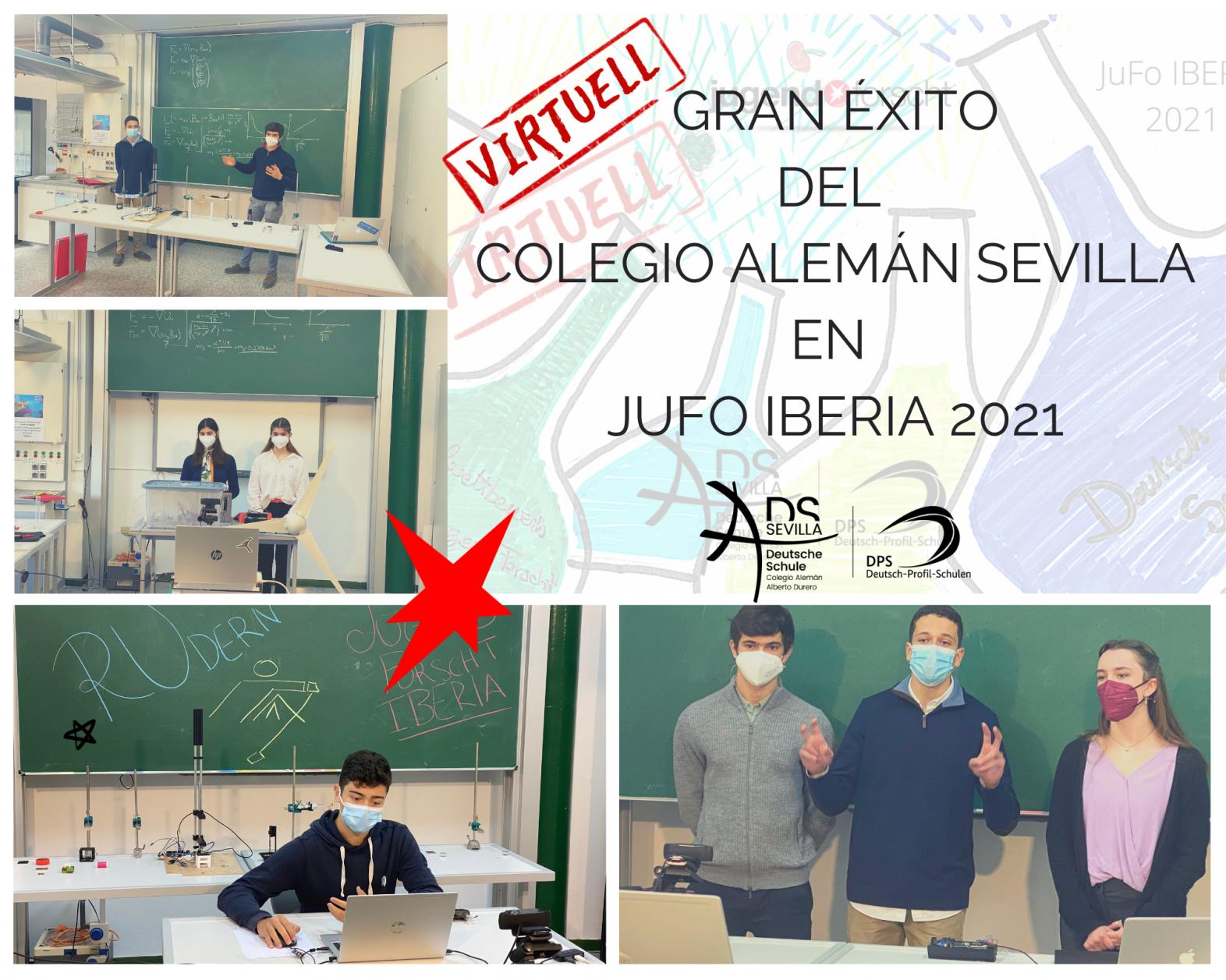 Jugend forscht! IBERIA: Concurso virtual para jóvenes científicos en el Colegio Alemán de Sevilla