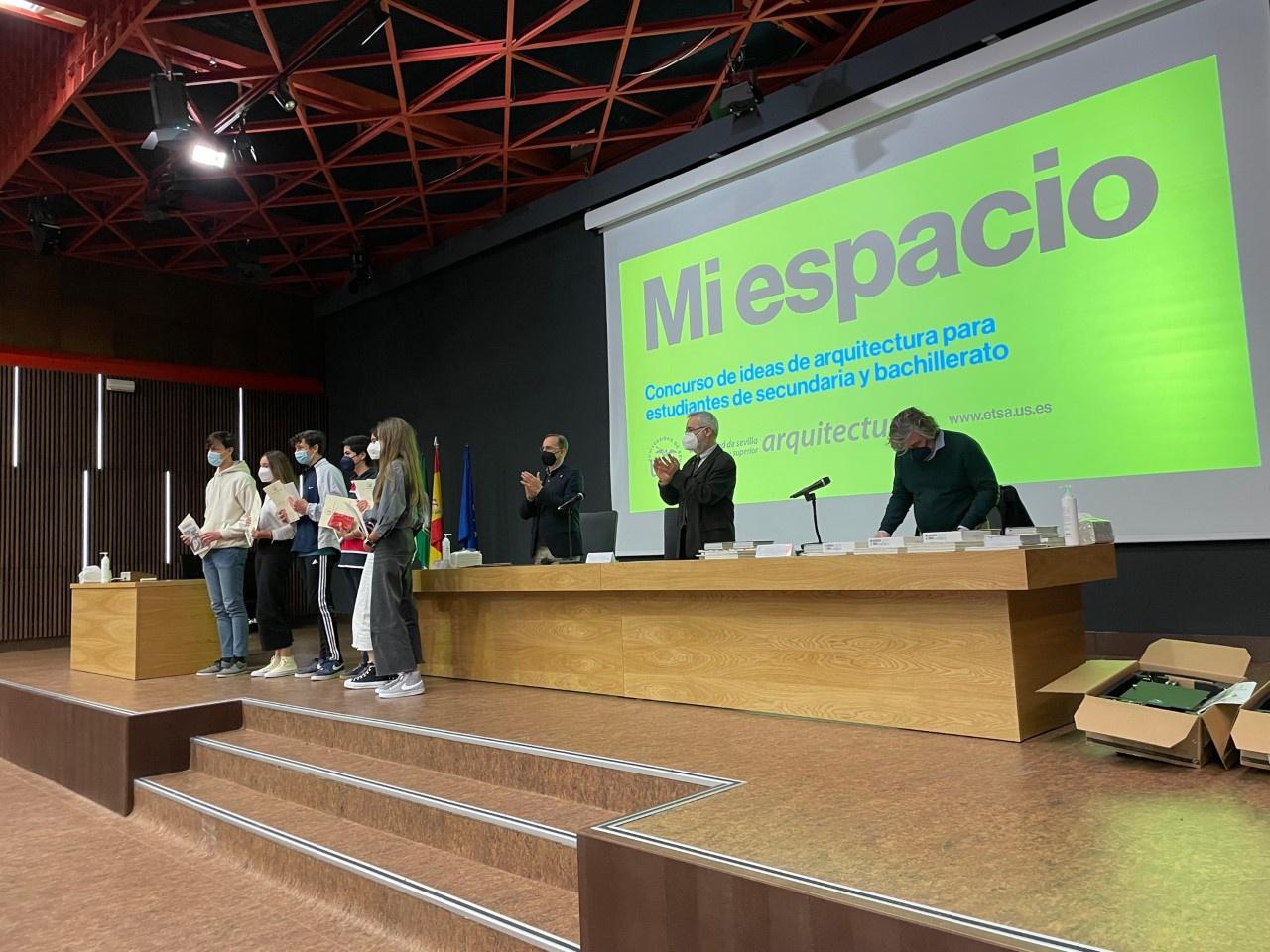 GRAN PAPEL DEL COLEGIO ALEMÁN SEVILLA EN LOS PREMIOS