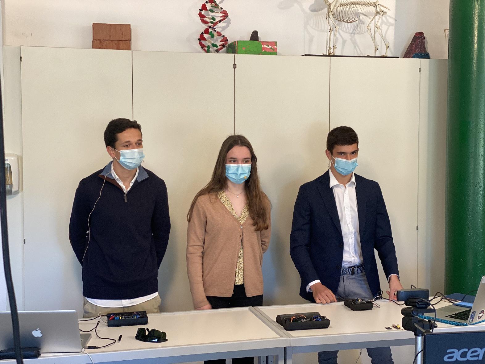 Magnífico resultado de nuestros alumnos en el concurso de Land NRW de Jugend Forscht!