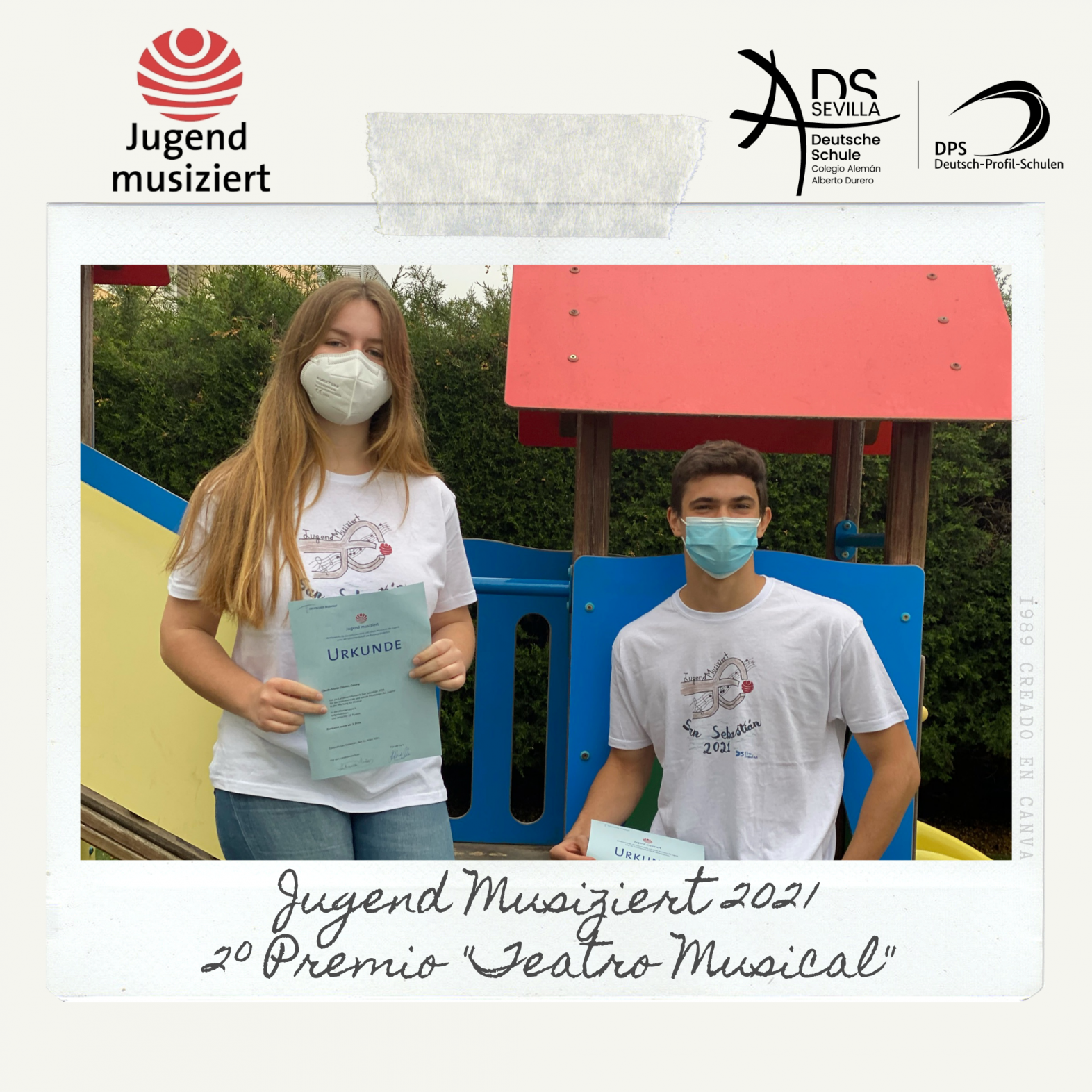 Fantásticos resultados del Colegio Alemán Sevilla en el concurso musical Jugend musiziert 2021