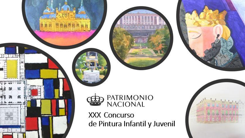 XXX Concurso Patrimonio Nacional de Pintura Infantil y Juvenil, curso 2020-2021
