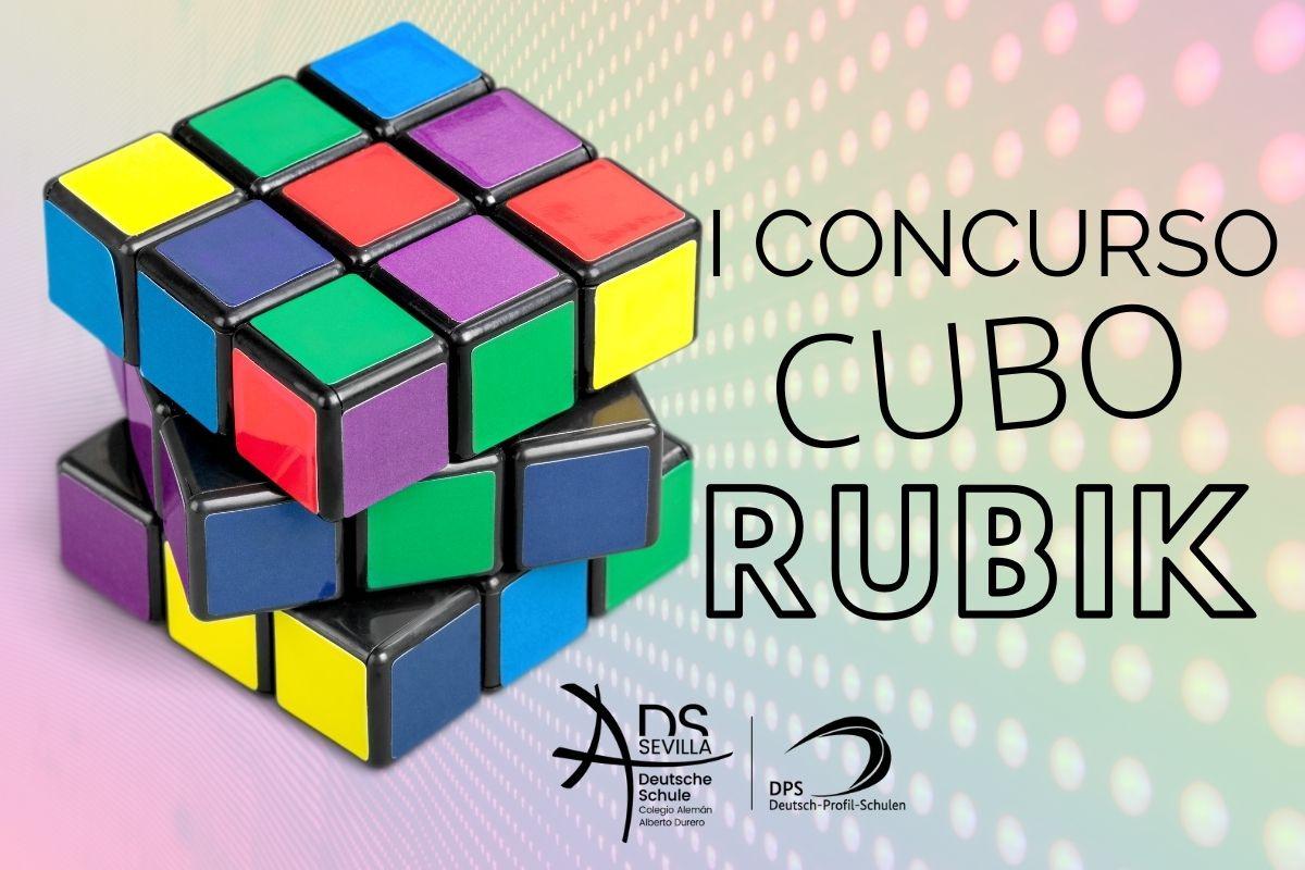 I Concurso Cubo de Rubik Colegio Alemán Sevilla