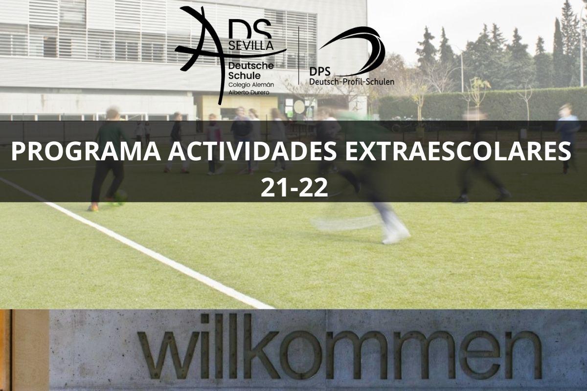 PROGRAMA ACTIVIDADES EXTRAESCOLARES 2021-2022