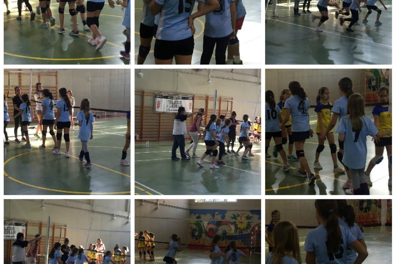 Nuestro equipo benjamín mixto de voleibol se proclama campeón de Sevilla