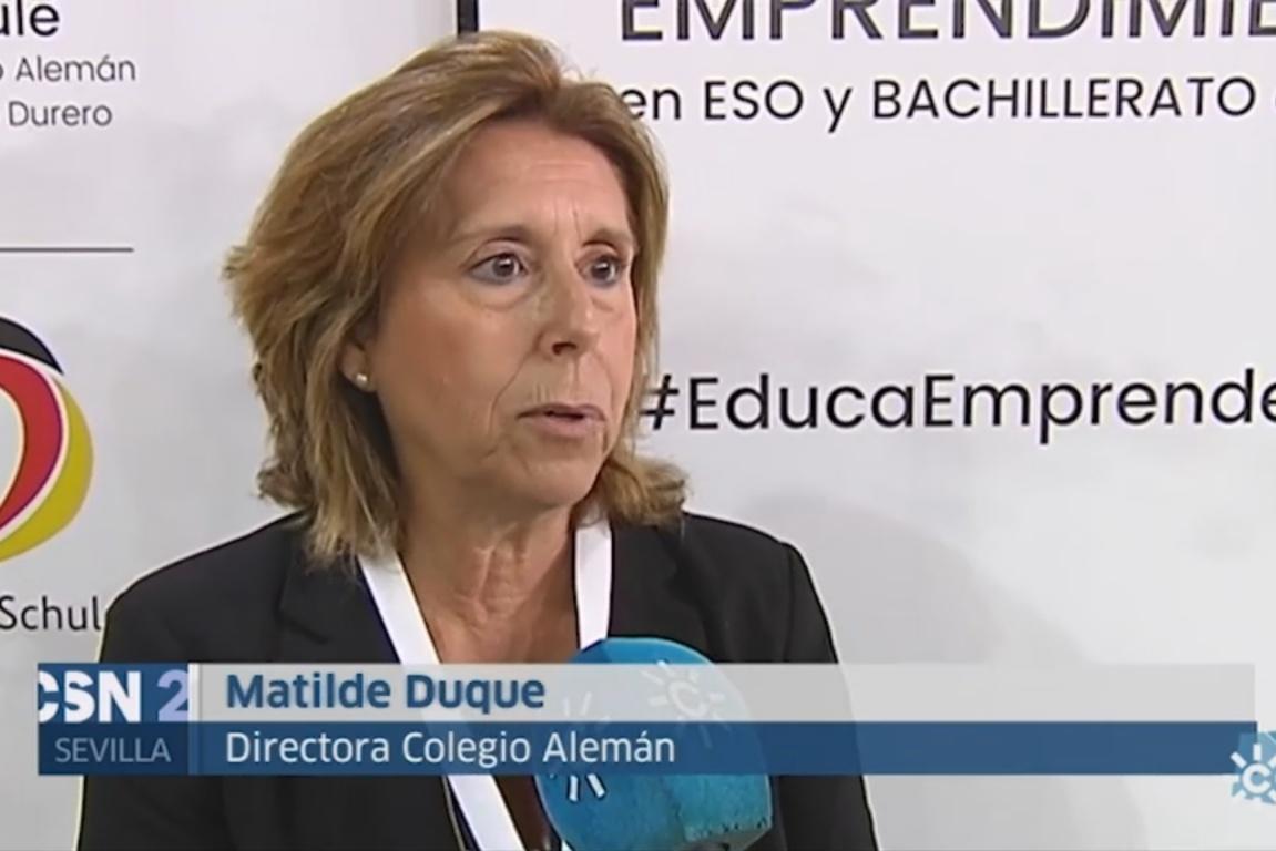 La Feria de Innovación y Emprendimiento en ESO y Bachillerato de Sevilla en Canal Sur Noticias