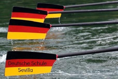Participación histórica del Deutsche Schule sevilla en una regata oficial de remo olímpico