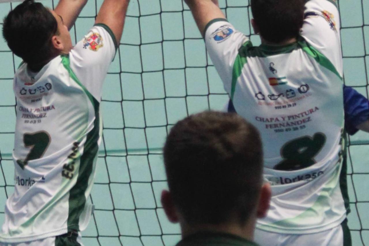 Elisa Martínez Heredia con la selección andaluza infantil voleibol