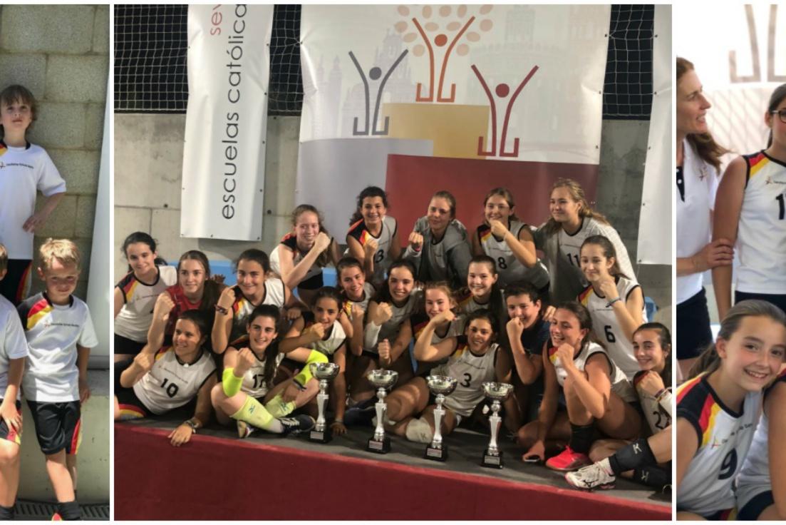 Broche de oro para el Colegio Alemán Sevilla en  la Jornada De Clausura de los XXVIII Juegos Deportivos de Escuelas  Sevilla.
