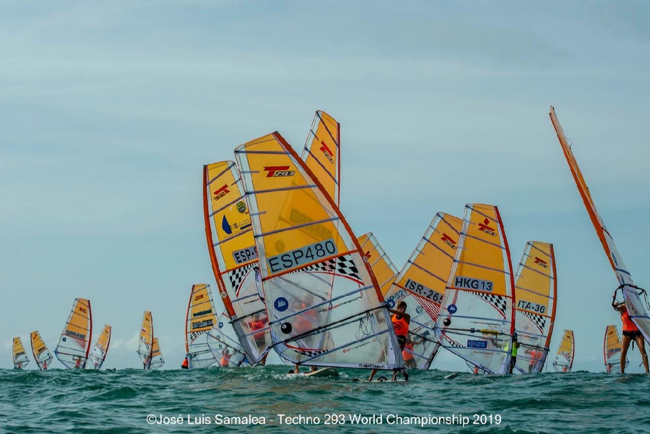 Gran participación de Lucía García-Cubillana en los Campeonatos del Mundo de windsurf en la clase Techno.