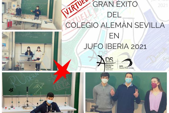 GRAN ÉXITO DEL COLEGIO ALEMÁN SEVILLA EN JUFO IBERIA 2021