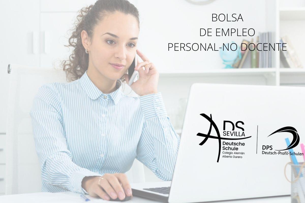 BOLSA DE EMPLEO PERSONAL NO DOCENTE